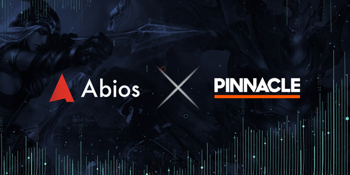 Pinnacle partners with esports data supplier Abios